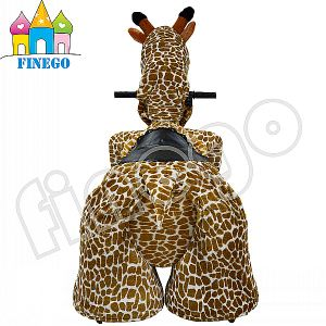 Finego Battery Ride on Horse, Giraffe Rocking Animal, Horse Scooter pictures & photos