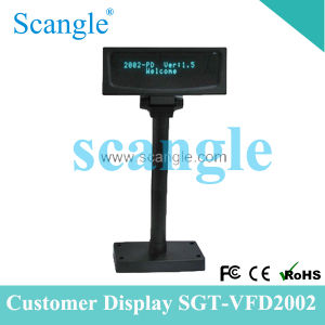 Sgt-VFD2002 Customer Display POS Display with High Quality pictures & photos