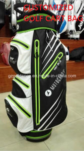 Wholesale High Quality Custom Handmade PU Leather Customized Golf Cart Bag pictures & photos