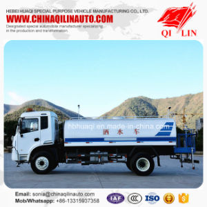 Dimensions 8200mmx2480mmx3100mm Water Sprinkler Vehicle for Sale pictures & photos