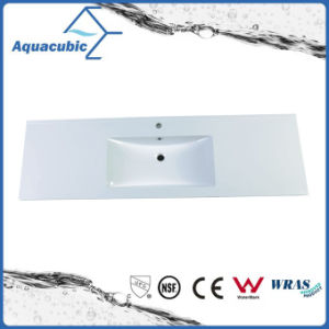 High-Quality Sanitary Ware Solid Surface Polymarble Bathroom Wash Basin (ACB1501) pictures & photos