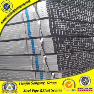Factory Sale 40*80*0.95mm Gi Hollow Pipe pictures & photos