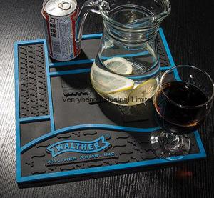 Custom 3D Logo Rubber Bar Runner for Promotion Gift pictures & photos