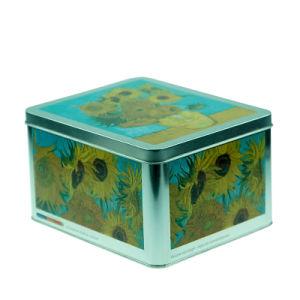 Large Tin Condom Storage Box (NC2739)