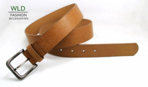 Classic and Basic Man Belt with Split Leather Linning M605 pictures & photos