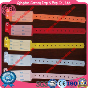 Disposable Medical ID Bracelets for Adults and Kids pictures & photos