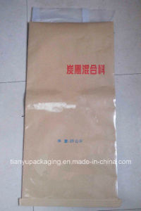 Moistureproof Sewn Bottom Kraft Paper Bag for Carbon Black Mixture pictures & photos