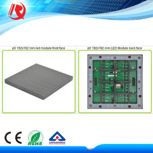 Indoor LED Videao Wall Used P6 Full Color Module with High Brightness pictures & photos