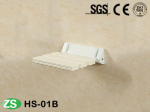 Wall Mounted Folding Antiseptic Wood Disable Shower Seat pictures & photos