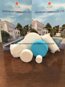 Cyanuric Acid /Stabilizer Tablet for Water Treatment Swimming Pool Chemical pictures & photos