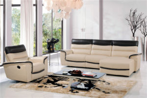 Living Room Sofa with Modern Genuine Leather Sofa Set (443) pictures & photos