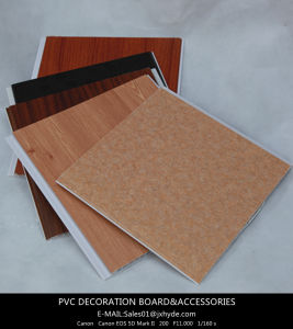 China Manufacutrer PVC Ceiling Wall Panel of Flat Panel for Decoration De PVC pictures & photos
