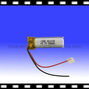 Small Rechargeable Bluetooth Battery Pack 3.7V 85mAh (401030)