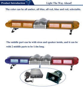LED Thin Amber Light Bar pictures & photos