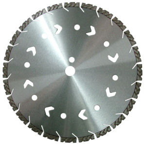 Laser Welding Diamond Circular Saw Blades for Cutting Cure/ Green Concrete pictures & photos