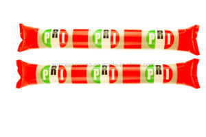 PE Promotion Event Cheering Stick Hand Clap Noise Maker Inflatable Cheering Sticks pictures & photos