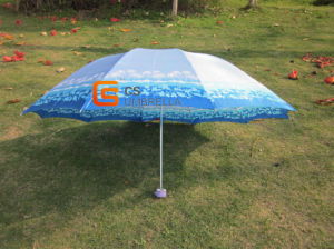 3-Folding Stain Flower Umbrella (YSF3078) pictures & photos