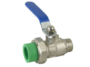 PPR Male Union Ball Valve pictures & photos