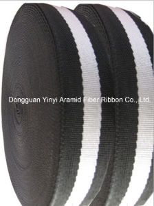 High Quality Polyester Cotton Color Stripe Belt Webbing pictures & photos