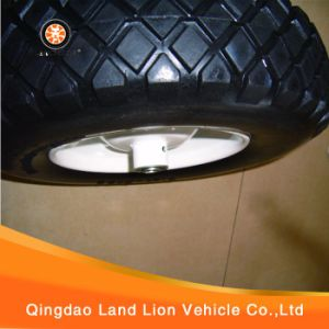Manufacture Kinds of Tread Pattern PU Foam Wheel for Barrows Machine 4.00-8, 3.50-8, 4.00-6, 3.25-8 pictures & photos