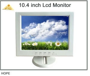 12 Inch White TFT LCD Monitor / LCD TV pictures & photos