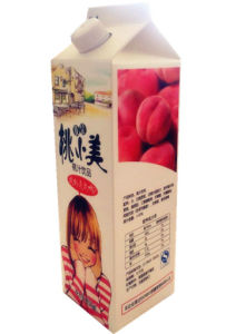 958ml Milk/Juice/Cream/Wine/Yoghurt/Water Gable Top Box/Carton with Caps pictures & photos