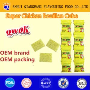 10g*144 Super Halal Chicken Stock Cube Bouillon Cube Seasoning Cube