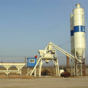 Construction Equipment Mini Concrete Mixing Plant (Hzs 25) pictures & photos