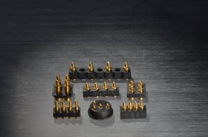 Customized 4 Pins Copper Pogo Pin Connector with Waterproof