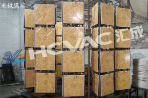 Ceramic Tiles/Tableware Gold PVD Vacuum Coating Machine pictures & photos
