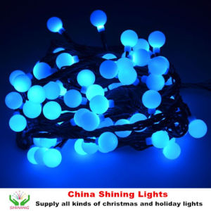 Popular Christmas Holiday Decoration LED Cherry Ball Lights 30m 300LED Good Quality Competitive Price pictures & photos