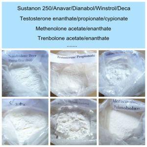 Sustanon 250 Anavar Dianabol Winstrol Deca Steroid Powder pictures & photos