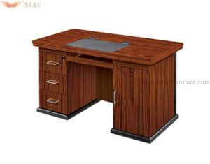 Most Popular Modern Office Use Wooden Panel Computer Desk pictures & photos