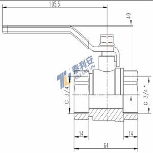 High Quality Ball Valve (T1083) pictures & photos