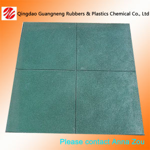 Rubber Gym Floor Tiles/Sports Rubber Flooring Mat Tile pictures & photos