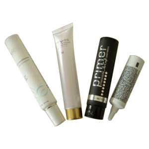 Adhesive Black Cream Tube Cosmetic Tube pictures & photos