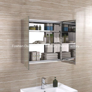 Europe Design Bathroom LED Mirror Cabinet pictures & photos