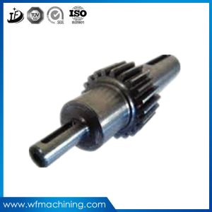 OEM Steering Shaft Gear Shaft Forged Bevel Gear/Pinion Shaft pictures & photos
