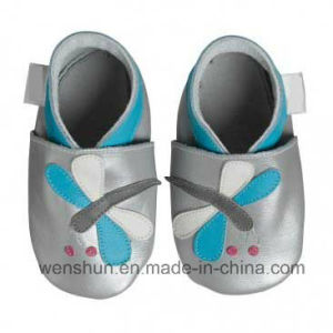 Baby Leather Shoes 4123 pictures & photos