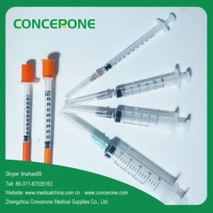 Disposable Syringe& Insulin Syringe with CE&ISO Approved pictures & photos