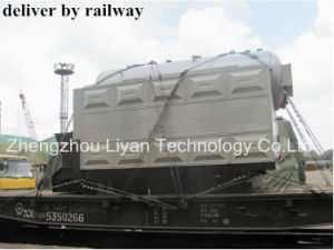8ton Steam Output Horizontal Wood Pellet Biomass Boiler pictures & photos