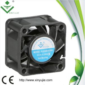 12V 24V Small Industrial DC Fan 40X40X28mm Brushless DC Axial Cooling Fan pictures & photos