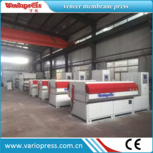 Laminating Membrane Press for Veneer/Paper pictures & photos