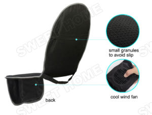 Electric Cool Heat Vibration Back Shiatsu Car Seat Massage Cushion pictures & photos