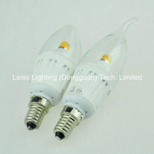 4W White Color 25W Replacement Halogen by LED Candle Light pictures & photos