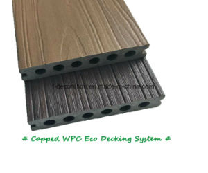 Crack-Resistance WPC Flooring for Outdoor Swimming Pool pictures & photos