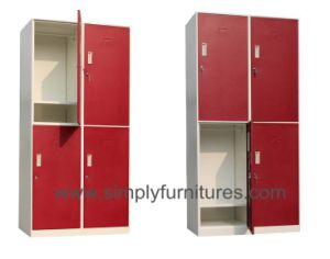 Gym Clothes Storage Metal Wardrobe pictures & photos
