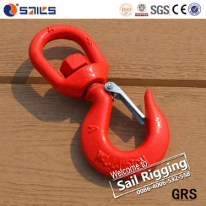 Safety Sling Forged S322 Lifting Swivel Hook pictures & photos