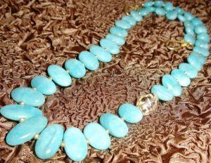 XG-BE143 Fashion Jewelry Blue Turquoise Charm Bracelet Charms