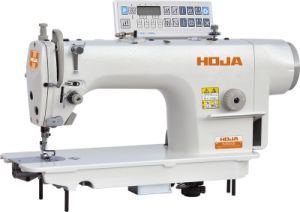 Direct-Drive High-Speed Lockstitch Sewing Machine with Auto-Trimmer Hj9000d